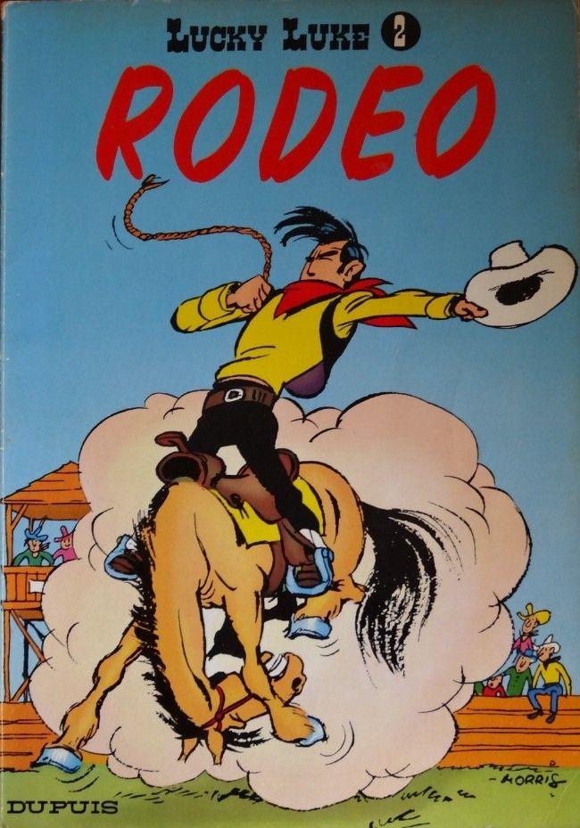 Lucky Luke -2- Rodéo  -  1950