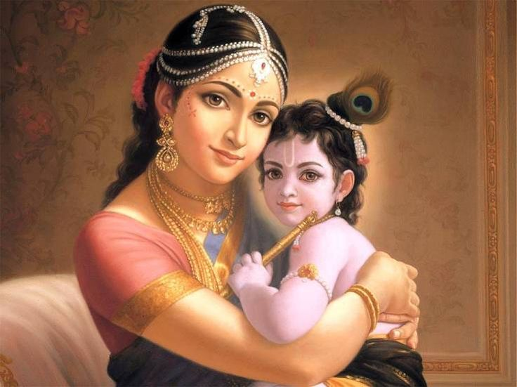 Bala Krishna refers to Lord Krishna as to when he was a child. BalaKrishna is often depicted as a small child crawling on his hands and knees or in the arms of his mother.