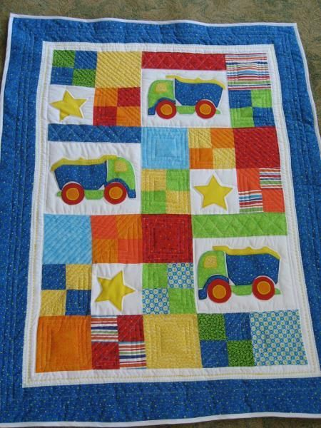 little boy quilt patterns | Little Boy's Quilt by annlbtx | Quilting Ideas