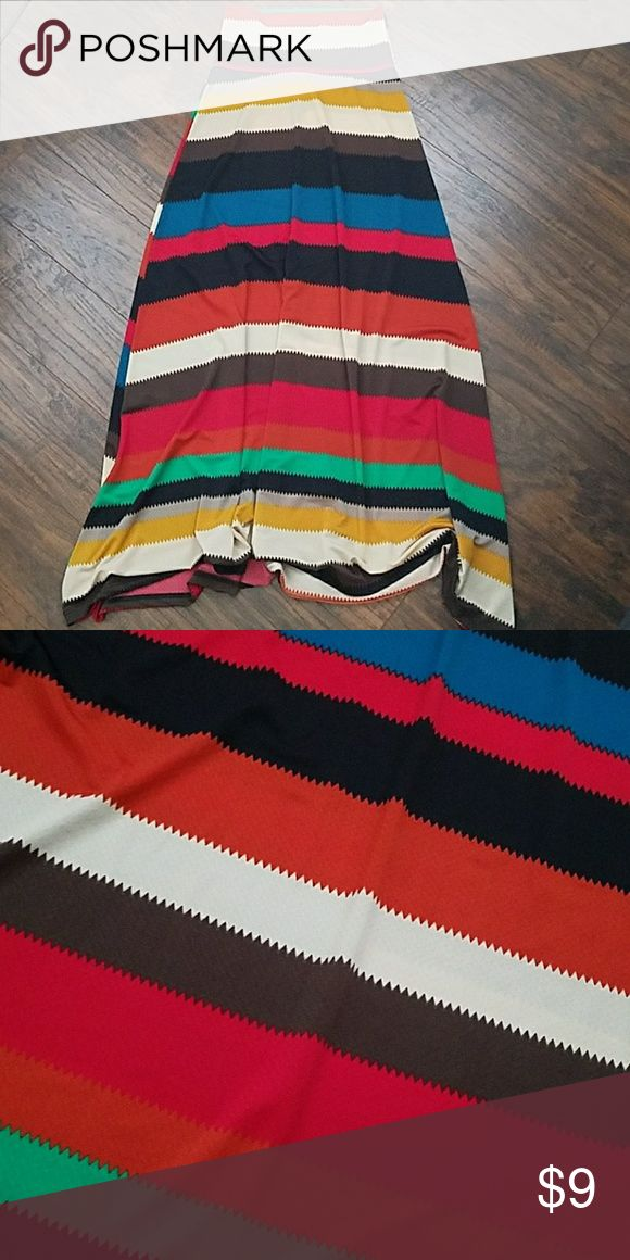 Spotted while shopping on Poshmark: Tribal Maxi Skirt small! #poshmark #fashion #shopping #style #Body Central #Dresses & Skirts