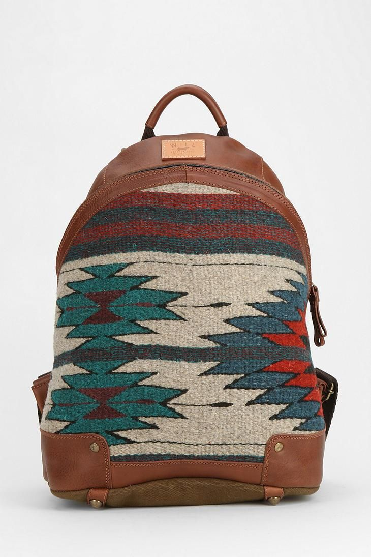 Will Leather Goods Oaxacan Dome Backpack #urbanoutfitters