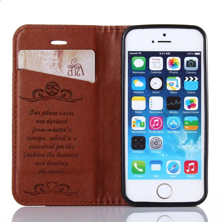 Flip Fashion Luxury Leather Phone Cases Cover For iPhone 5s se 5 Case Cover iphon 5s Smartphone Mobile Phone Bag Celular 224