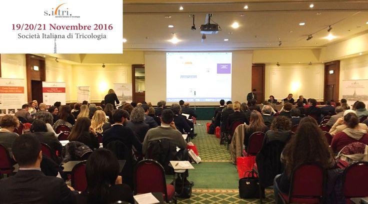 Istituto Helvetico Sanders al Congresso Autunnale di #Torino organizzato dal S.I.Tri. Protagoniste le novità, le tecniche e gli ultimi studi in ambito di #tricologia