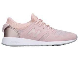 New Balance 420 - Women's Product #: WRL420SE Selected Style: Faded Rose/Champagne Metallic | Width - B - Medium