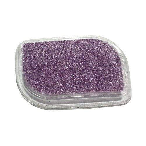 Bye Callus Short Handle Pads Purple. Unique Callus Pedicure Disposable Sanding Pads Individually packed Very Sanitary and Easy to Use Regular Grit