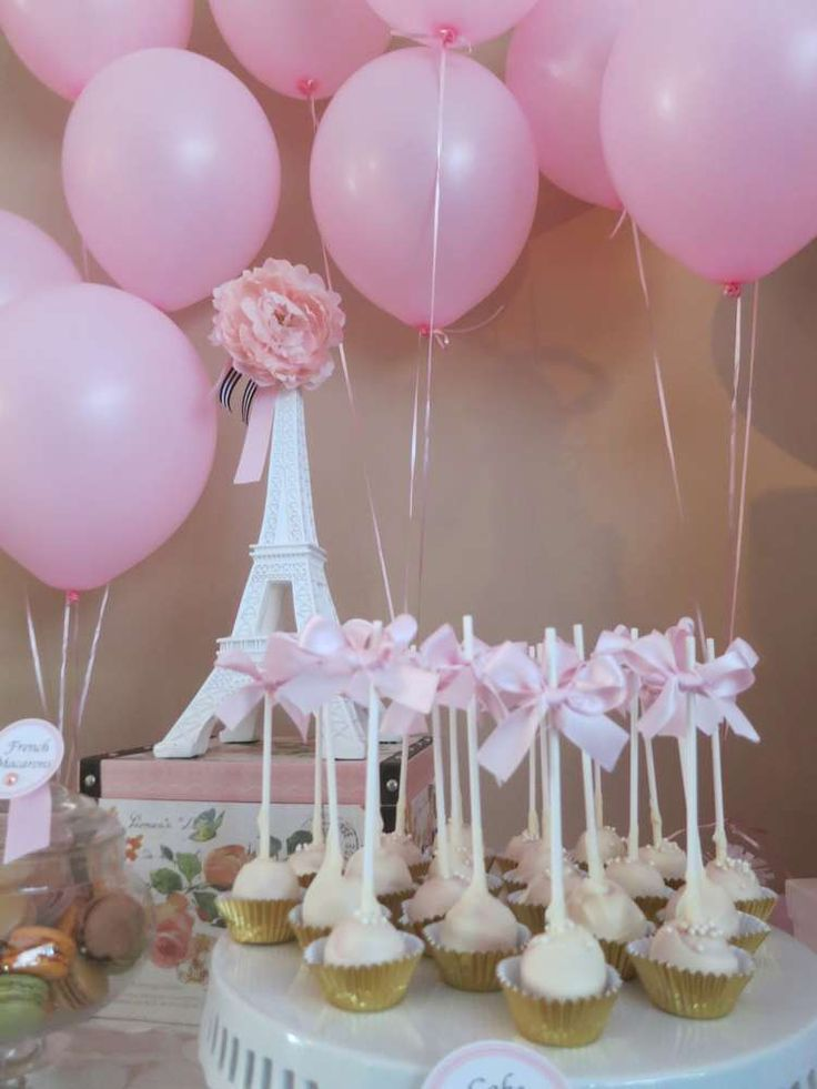Great Paris Inspired Baby Shower Baby Shower Party Ideas