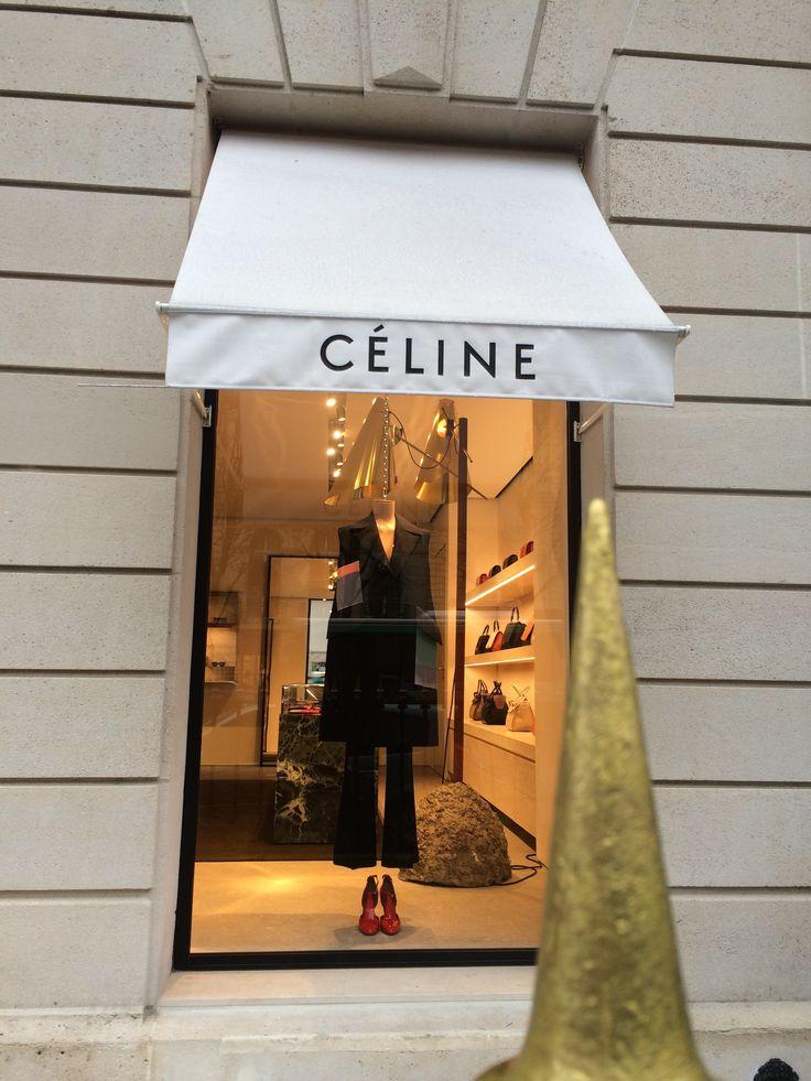 'CELINE' at Gorge IV street in Paris