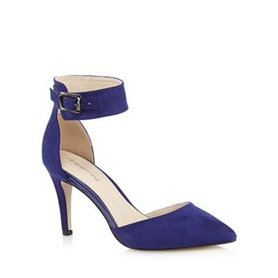 Red Herring Blue suedette high court shoes- at Debenhams.com