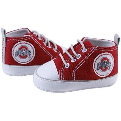 Ohio State Buckeyes Infant Scarlet Crawler Sneakers
