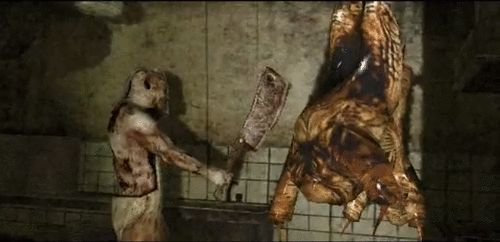 Silent hill origins butcher. My favorite boss of the game.