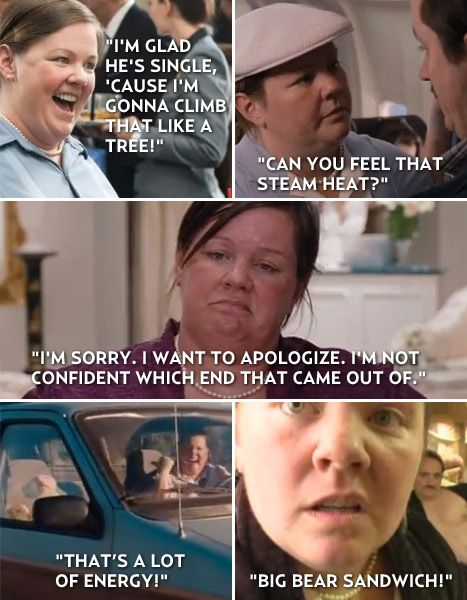 Megan is the best part of Bridesmaids!