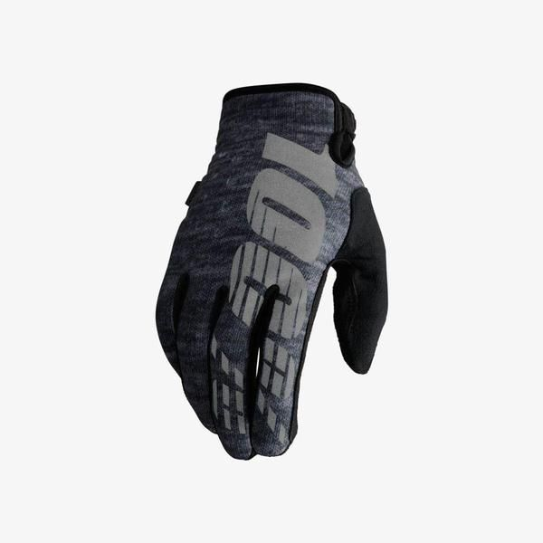 Size Large - 2018 100% Brisker Cold Weather MX Motocross Gloves - Heather From the Industry leader in Goggles, 100% bring to you their new range of Motocross gloves. Afforda