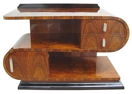 art moderne furniture. beautiful art deco lines moderne furniture