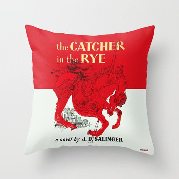 The Catcher in The Rye Pillow – TheGretest