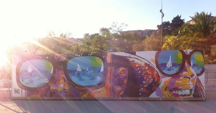 GUITTET s'est associé, via son distributeur Station Peinture, à We Records & Size, une association d'artistes marseillais dont le but est d'amener l'art dans les cités en créant un musée à ciel ouvert. Fresque de l'artiste Cros 2 réalisée en Montyl.