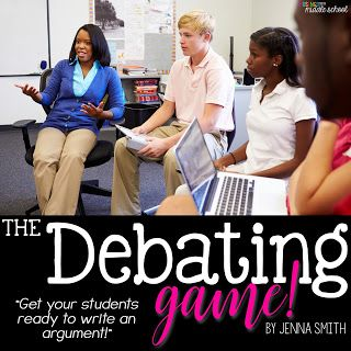 The Debating Game! - Argument writing is hard stuff. Looking for a cool way to ease into it? Try this.