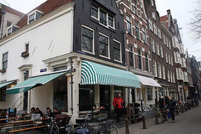 Beste Appeltaart van Amsterdam bij Winkel - Noordermarkt. Best apple pie ever!