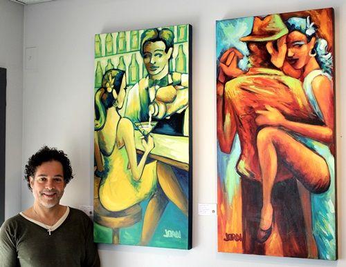 Jordi Dufour expose à l' Imprimerie Numéripro #jordidufour #jordi #dufour #fineart #contemporaryart