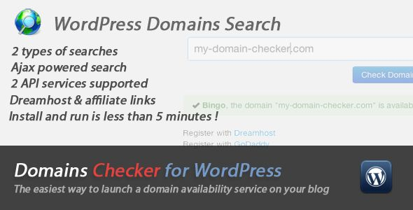 See More Domains Names Checker for WordPressYes I can say you are on right site we just collected best shopping store that have