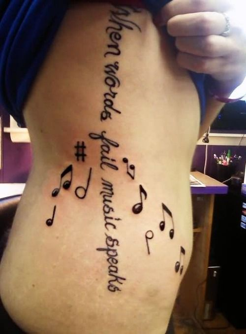 best 25 music note tattoos ideas on pinterest music tattoos music tattoos on wrist and love. Black Bedroom Furniture Sets. Home Design Ideas