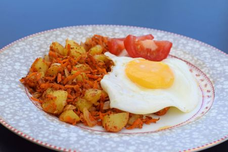 Indisk stekt potatis -skippanudlarna