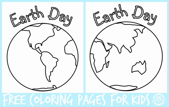 earth planet cutouts printables - photo #15