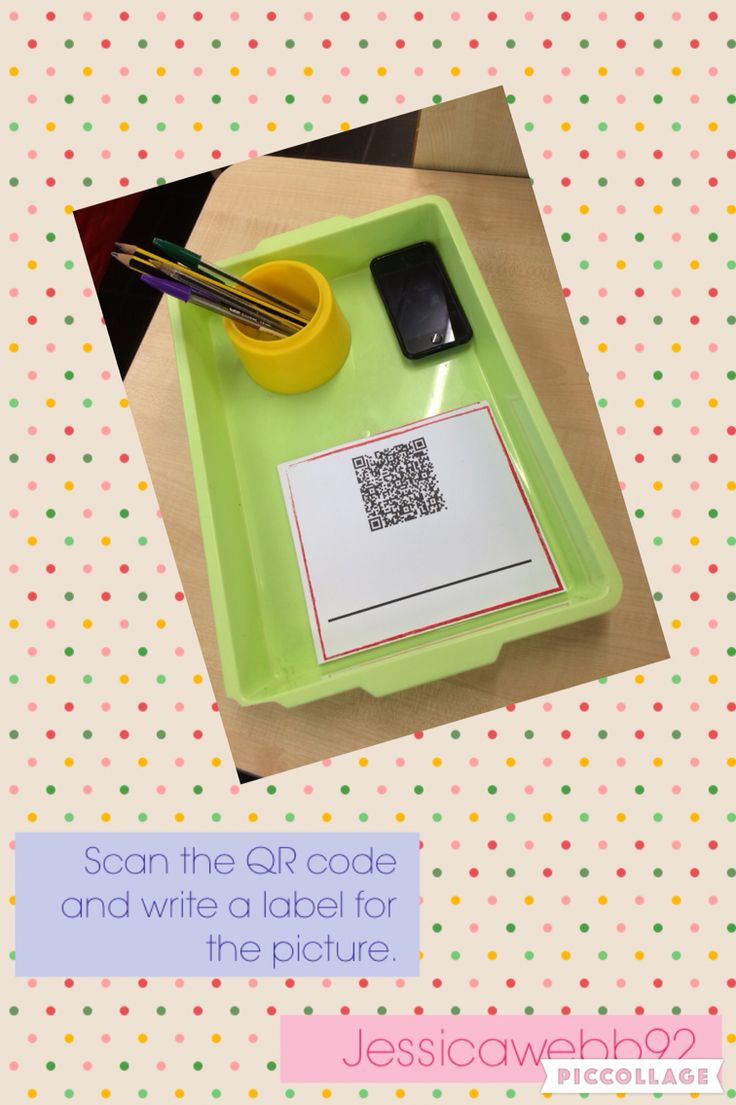 Scan the QR code and write a label or caption about the picture it reveals. These led to Handa's Surprise pictures. EYFS