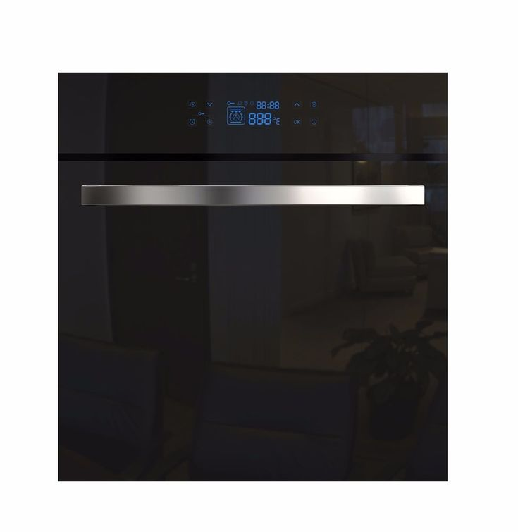 "Empava 24"" Tempered Glass Digital Controls Electric Built-in Single Wall Oven #EMPAVA"