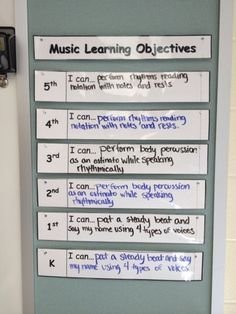 this would be a good idea, particularly in districts that are requiring teachers to visibly post their goals for any given lesson.