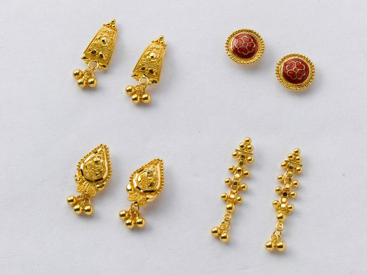 Stunning Pairs of Earrings from the gold factory