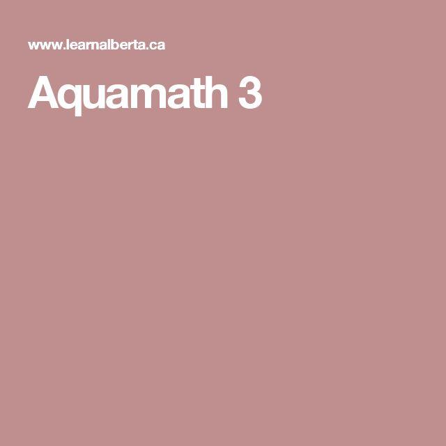Aquamath 3
