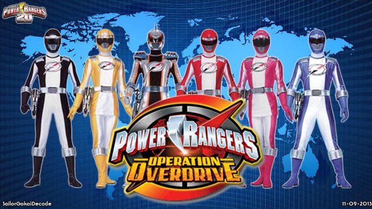 power rangers operation overdrive   Power Rangers Operation Overdrive WP by jm511