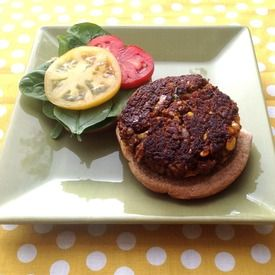 Black Bean & Corn Burger | Kids: Toddler Food | Pinterest