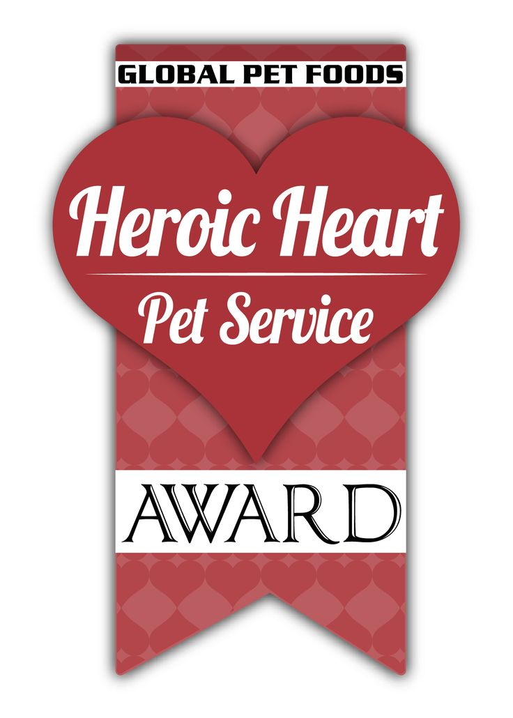 We're shining a spotlight on homeless pets and the animal caregivers that work tirelessly to support them. During the month of September, 2014, Global Pet Foods invites Canadians to nominate outstanding animal shelter & rescue volunteers for the 3rd Annual Heroic Heart Pet Service Award. 4 nominees will be selected & awarded a Heroic Heart Award, $1,000 cheque to support a specific shelter/rescue project or an expense, such as veterinary bills, and 12 bags of Nature's Harvest pet food.