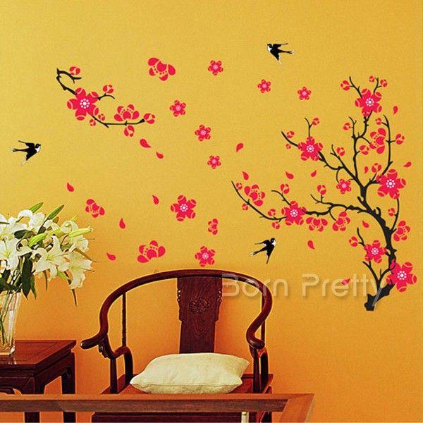 62 best Wall Sticker images on Pinterest | 3d butterfly wall ...