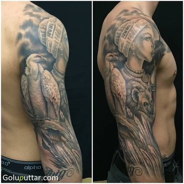 Tribal Warrior Tattoo Meanings: 22 Best African Warrior Tattoos For Women Images On