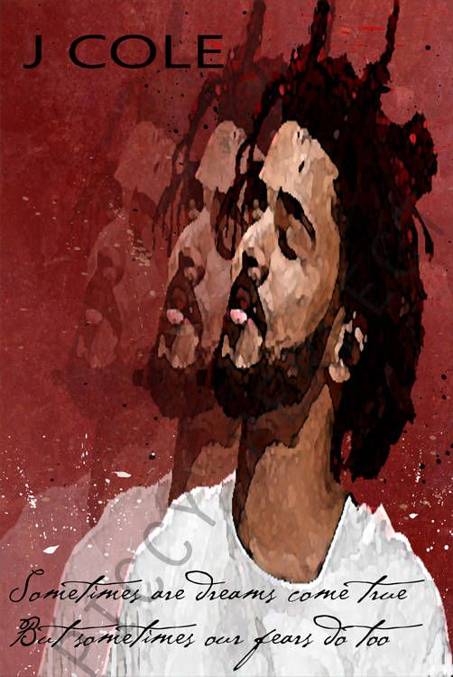 J Cole, J Cole Poster, J Cole Print, J Cole, J Cole Wall Art, J Cole Art, Music Print, Music Poster, Hip Hop, Rap, Rappers, Quote Print, Quote Art, No Role Modelz, Wet Dreamz, Apparently, Forest Hills Drive, 4 your eyez only, Revenge of the Dreamer, Born Sinner, Cole World The Sideline Story, Friday Night Lights, The Warm up, The Come Up, The Blow up,