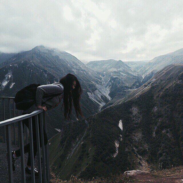 ⛰🗻🌁 #горы #небо #тбилиси #tbilisi #Georgia