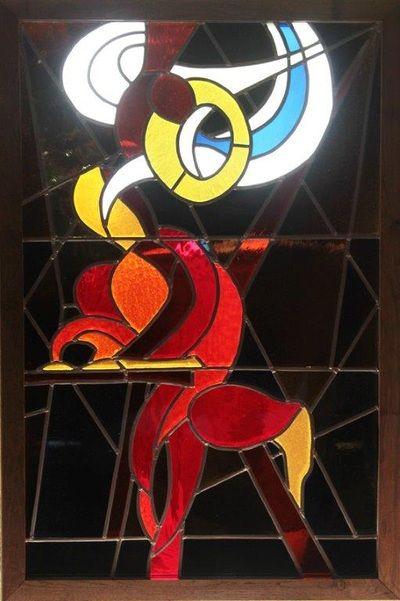 Glas in lood en brandschilderen - Glass by Yvon