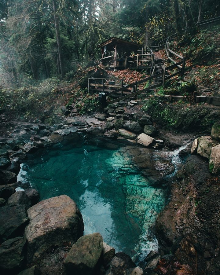 Hot Springs For Sunrise by Dylan Furst - Photo 181809275 / 500px