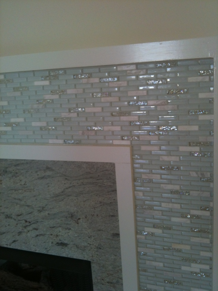 Glazzio Glass Tile Tiles Stone Mosaic Tile Bathroom