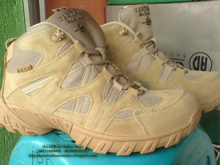 hscellshop: Sepatu Tactical Nato Pendek