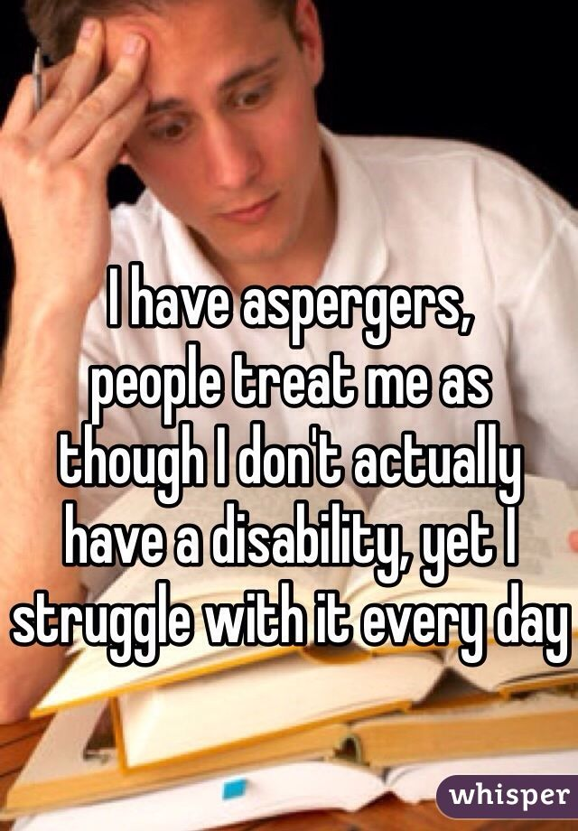 20 Heartbreaking Confessions From People With Asperger's Syndrome