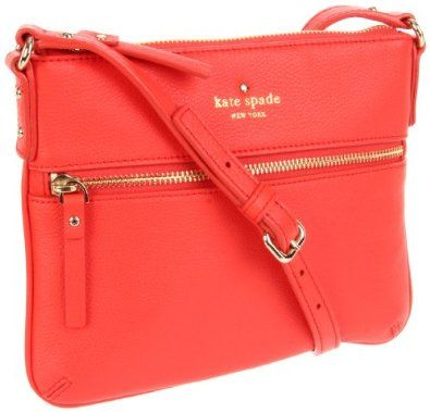 Coral Kate Spade.: Coral Kate, Purse, Color, Crosses Body Bags, Spring Summer, Cobbl Hill, New York, Kate Spade, Katespade