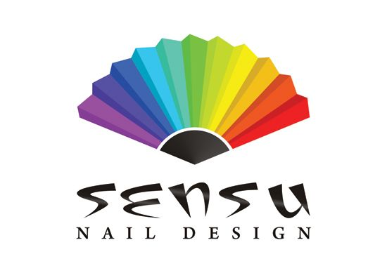 Sensu Nail Design projekt logo www.ludio.pl