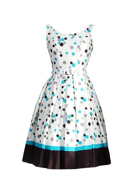 Betty Polka Dot Blue