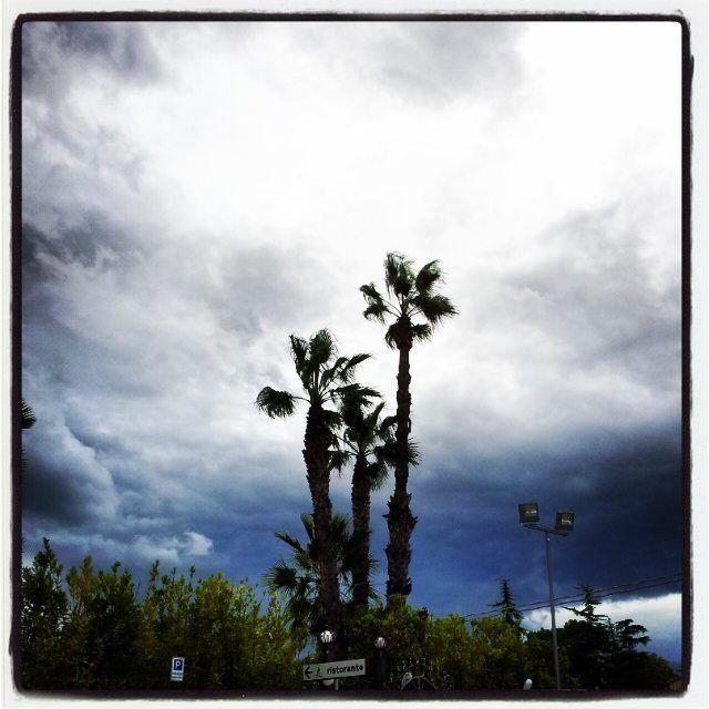 Stormy Sunday - Manoppello Scalo (PE) Samsung Galaxy II, Instagram