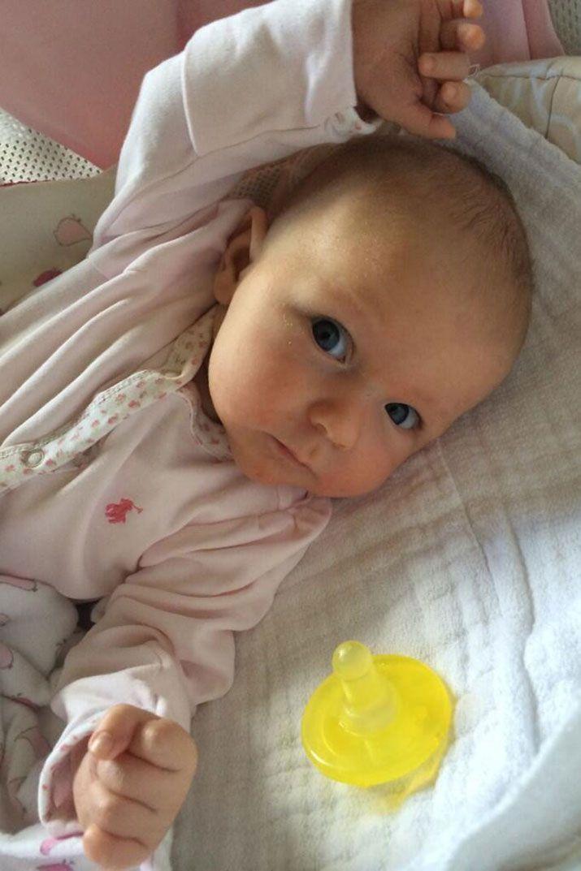 Emily Blunt and John Krasinski baby daughter, Hazel Krasinski - born Feb. 16, 2014