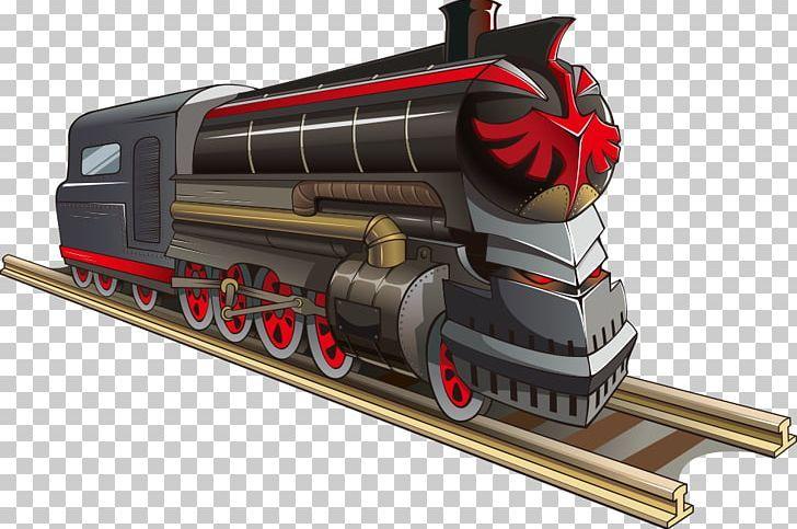 Train Rail Transport Steam Locomotive Track Png Cartoon Train Happy Birthday Vector Images Locomotive Machine Rail Transport Steam Locomotive Locomotive