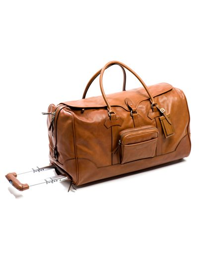 Men's travel bag/ My husband to change his 20kg backpack to this... It would definetely add sparkles to my Christmas.